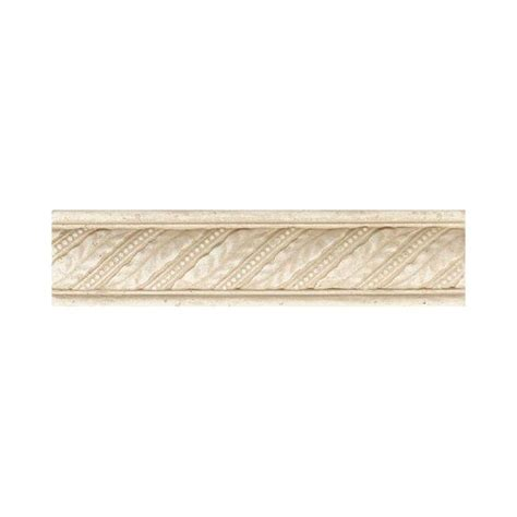 daltile fashion accents crema 2 in x 8 in ceramic