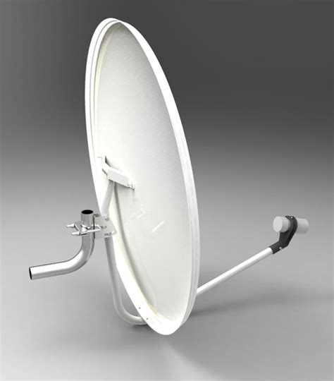 satellite antenna or dish 3d cad model library grabcad