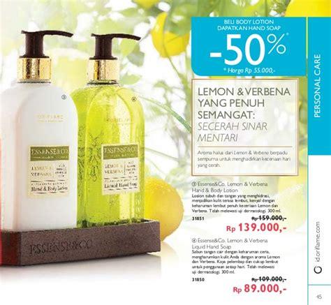 Oriflame Essense Co Lemon Verbena Lotion 300 Ml katalog oriflame desember 2016 plus katalog mini novage bright sublime