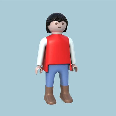 play for mobile 3ds max playmobile doll