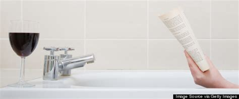 reading in bathroom common bathroom habits revealed huffpost