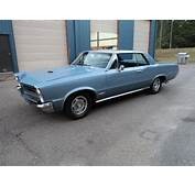 Blue 1965 Pontiac Gto For Sale  MCG Marketplace