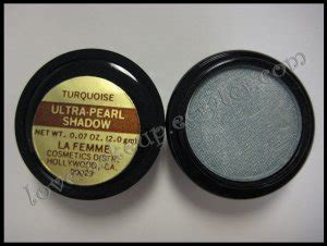 La Femme Ultra Pearl Eye Shadow Flamenco la femme ultra pearl eye shadow turquoise