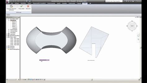 revit tutorial tu graz revit 2010 freiform tutorial 2 6 extrusion stex tu