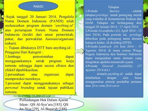 Domain Untuk Lembaga Atau Organisasi Pemerintahan Indonesia Adalah