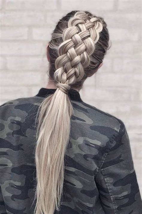 Cool Ponytail Hairstyles by Viking Hairstyles For With Hair It S All