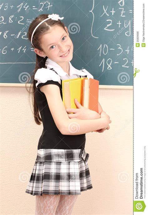 dreamstime high school girls beautiful girl in school uniform with books stock photo