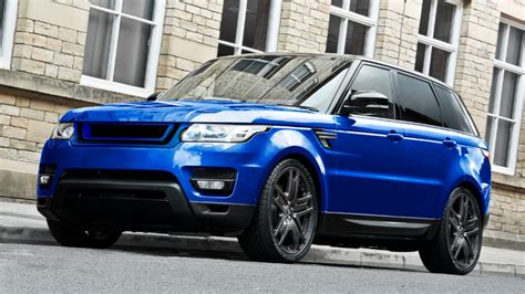 blue land rover gorgeous estoril blue range rover sport by kahn carz tuning