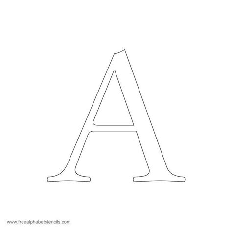 printable paper letter stencils 17 best ideas about printable stencils on pinterest