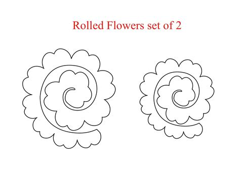 rolled paper flower pattern houses built of cards mcs mini release day 1 rolled