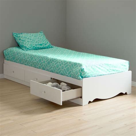 twin size bed with storage twin new size white wood platform bed daybed with storage