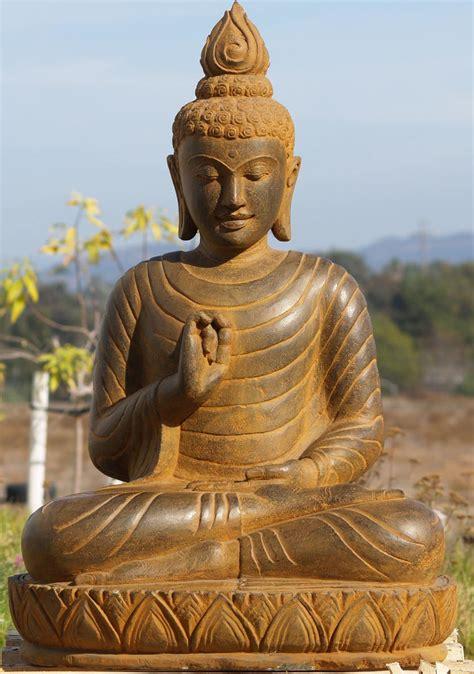 Buddha Statues Home Decor by Sold Stone Dharma Buddha Statue 37 Quot 69ls15 Hindu Gods