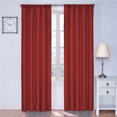 curtains eclipse eclipse canova blackout 63 in l polyester curtain panel