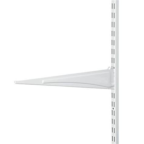 Closetmaid 16 Inch Shelf Closetmaid 2854 Shelftrack 16 Inch Locking Shelf Bracket
