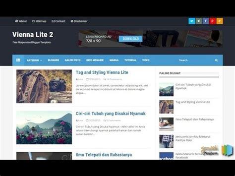 template toko online blogspot premium gratis download vienna lite 2 templates blogger with free