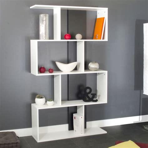 etagere 8 cases blanches etag 232 re design 8 niches en bois l89xp25xh165cm blanc
