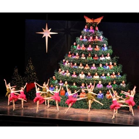 the 59th annual singing christmas tree in charlotte nc