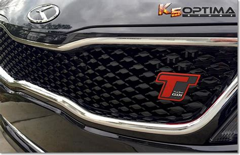 Kia Emblems For Sale K5 Optima Store Kia Hyundai Quot T Quot Turbo Grille Emblem