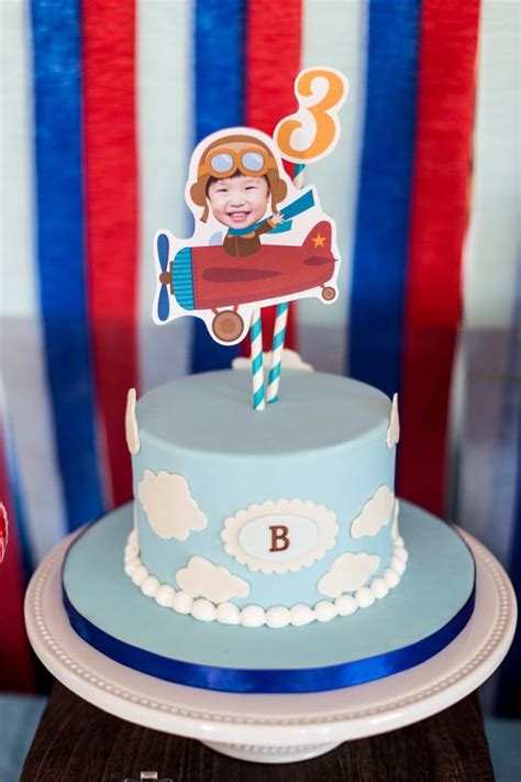 airplane themed birthday decorations a high flying boy s airplane birthday spaceships