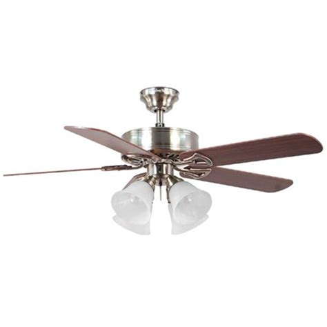 harbor 52 in springfield brushed nickel ceiling fan