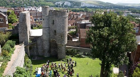 Plan House by Norman Castle Heritage Days Out In Sussex The Sussex