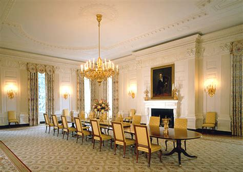 Rooms Of The White House by State Dining Room Of The White House The Enchanted Manor