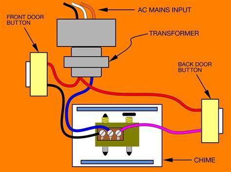 doorbell wiring colors wiring a doorbell diagram kuwaitigenius me