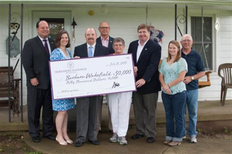 Berkshire Hathaway Sweepstakes - berkshire hathaway homeservices announces winner of its 50 000 sweepstakes benzinga