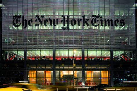 sede new york times renzo piano le opere dell archistar italiano design mag