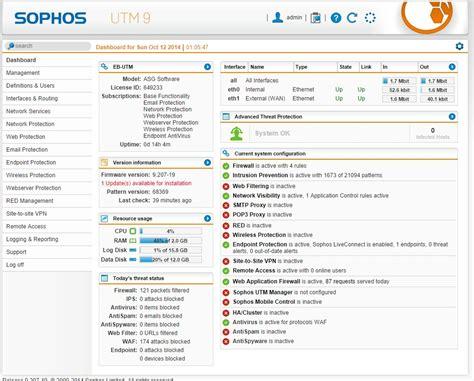 sophos utm tutorial sophos utm home edition setup avie home