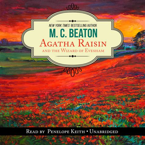 wizard audiobook listen instantly agatha raisin and the wizard of evesham audiobook