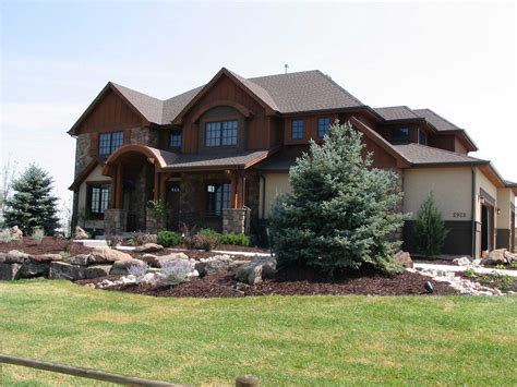 rustic mountain house plans home design