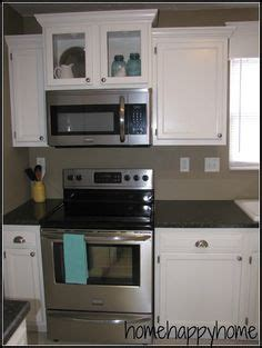 hang microwave without cabinet above hang an over the range microwave without an overhead