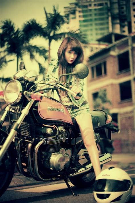 Kawasaki Vintage Motorrad by 121 Best Images About Girl Motorcycle On Pinterest Posts