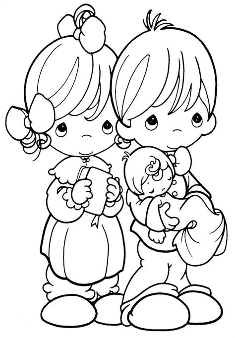coloring pages baby baptism coloring picture of baptism child coloring