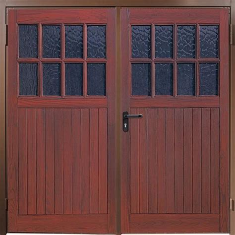 Grp Side Hinged Garage Doors by Wessex Sherwood Wessex Side Hinged Grp The Garage Door