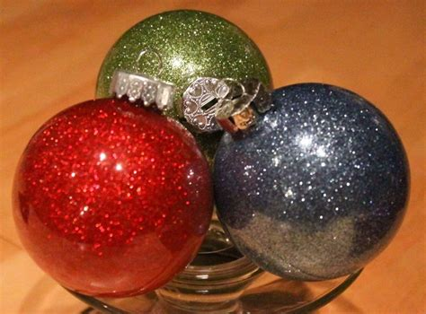 diy glitter twine ornaments diy glitter ornaments with pledge easy the frugal