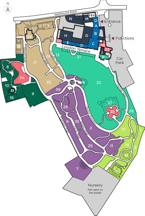 botanical gardens map interactive map birmingham botanical gardens