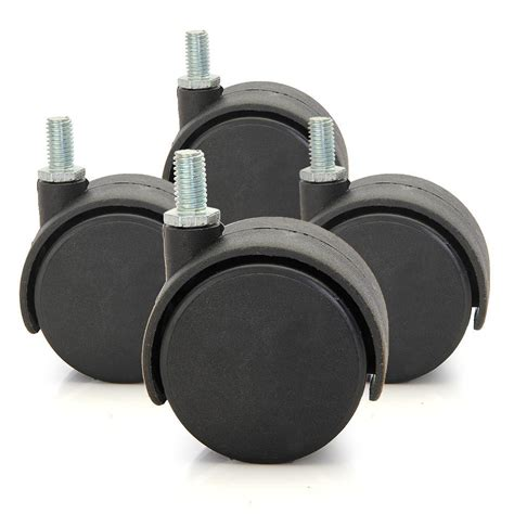 4 X 1 Quot Nylon Wheels Swivel Casters Chair Table Furniture Swivel Chair Casters