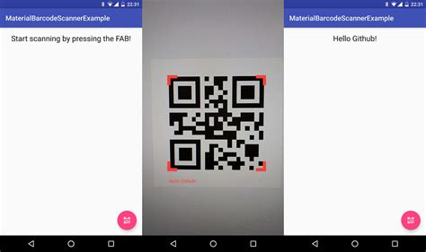 android studio qr code reader tutorial material barcode scanner materialup