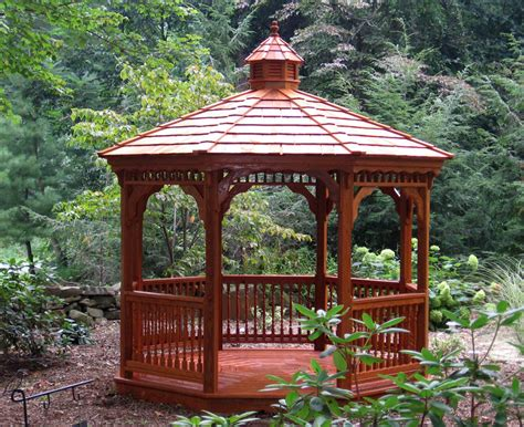 gazebo 4x6 wood gazebos backyard beyond