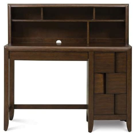 Youth Desk With Hutch Magnussen Twilight Youth Desk With Hutch Modern Desks And Desk Sets By Unlimited