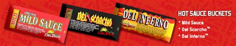 Del Taco Gift Card - del taco opens web store sells hot sauce packets hotsaucedaily