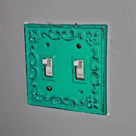 laguna green decorative light switch plate switch