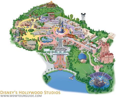 disney studios map legs eleven where in walt disney word studios