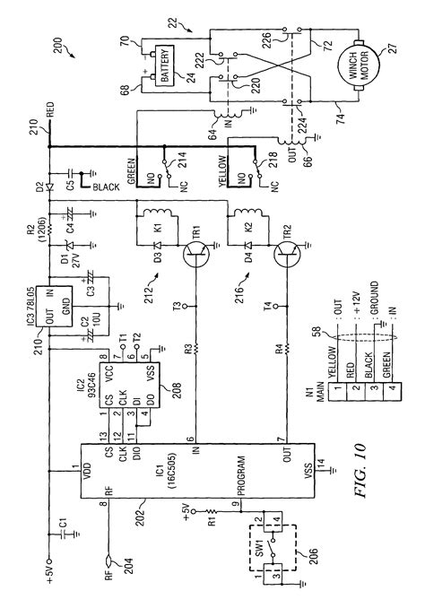 hoist wiring diagram wiring diagrams schematics