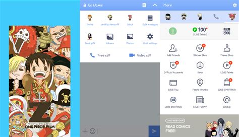 download theme line one piece android kumpulan tema theme line anime one piece di android