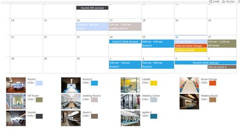 Conference Room Scheduling Software by Popsoftzone