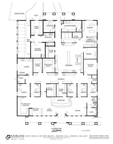 pet shop floor plan dog boarding kennel plans june 2012 antioch veterinary