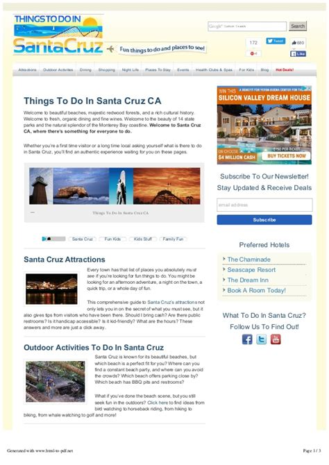 things to do in santa ca